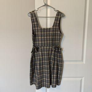 NWT Tall Topshop Pinafore Dress Clueless